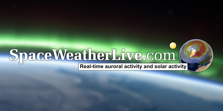 Auroral Oval SpaceWeatherLivecom - Kp index map us